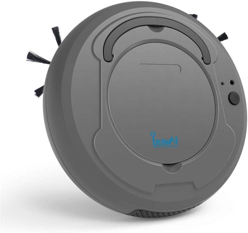 Robot Aspirador Barrido Aspiración Robótica Auto Recargas Fregona Mediana Combo Casa Sala De Peluquería Pisos Cocina Tranquilo Ligero Fácil De Usar Inteligente AI Controlesensores De Voz Madera Dura: Amazon.es: Hogar