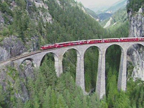 (The Glacier Express and Gornergrat-Bahn)