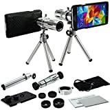 S5 Lens, MobilePioneer 4 in 1 Camera Lens Kit for Samsung Galaxy S5