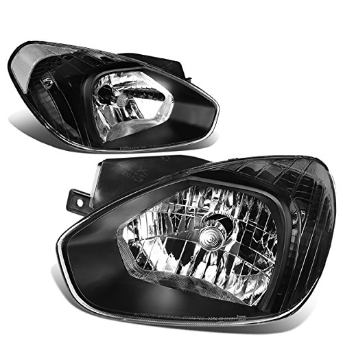 For 04-08 Pontiac Grand Prix DNA Motoring HL-OH-PGPR04-BK-CL1 Pair of Headlight