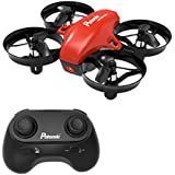 Potensic Mini A20 Altitude Hold Quadcopter Drone 2.4G 6 Axis Headless Mode Rem 6 Remote Control Nano Beginners, Red
