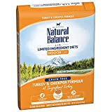 Natural Balance Limited Ingredient Diets Dry Cat Food For Indoor Cats, Turkey & Chickpea (1 Pack), 10 Lb
