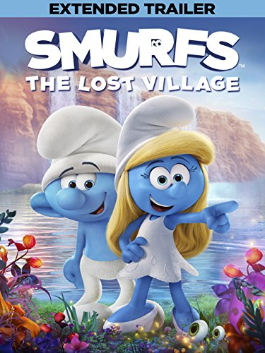 DVD : Smurfs: The Lost Village