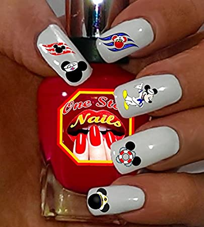 Disney Cruise Nail Art Decals. Tattoo Mickey Nail Decal, Cruise Nail Decal  Set of - Amazon.com: Disney Cruise Nail Art Decals. Tattoo Mickey Nail Decal