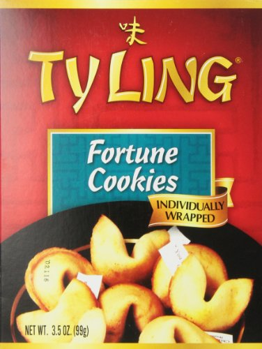 Ty Ling Fortune Cookies  3 5 Ounce Units  Pack Of 12
