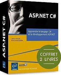ASP.NET C# - Coffret de 2 livres : Apprendre le langage  C# et le développement ASP.NET