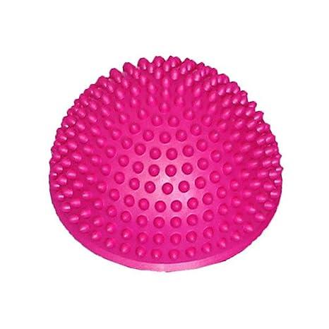 Fliyeong Pelota de Yoga semicircular Yoga, balón de Equilibrio ...