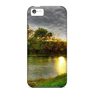 New Arrival Fantastic River Hdr KgKwKJE3989nFwVt Case Cover/ 5c Iphone Case