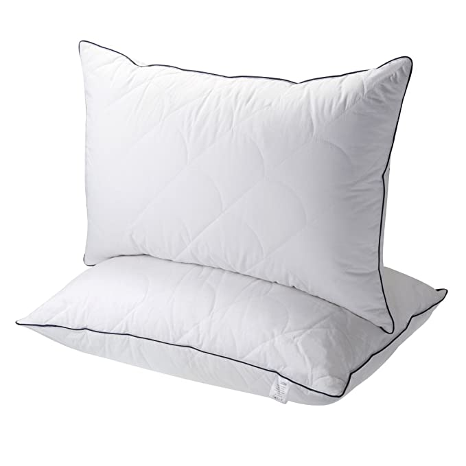 Sable Pillows for Sleeping Super Soft Plush - Luxury Like a Down Pillow