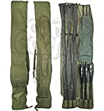 Carp Fishing Tackle Rod Holdall Bag For 12 Foot Rods