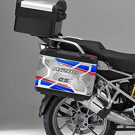 Kit de 2 Protecciones Adhesivos Maletas BMW Vario R 1200 GS Vario 2° Modelo Vv2-00 - Rallye Color V2: Amazon.es: Coche y moto