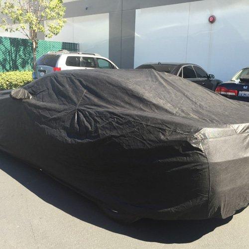 CarsCover Custom Fit Chevy Camaro Car Cover Xtrashield Black Covers