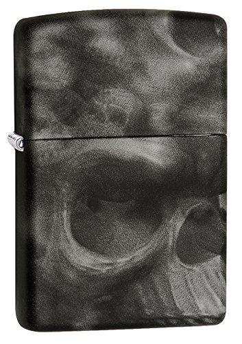Zippo Skull Pocket Lighter, Softouch ()
