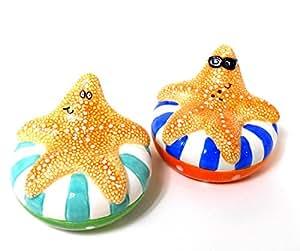 Tropical Innertube Starfish Salt & Pepper Shaker S/P