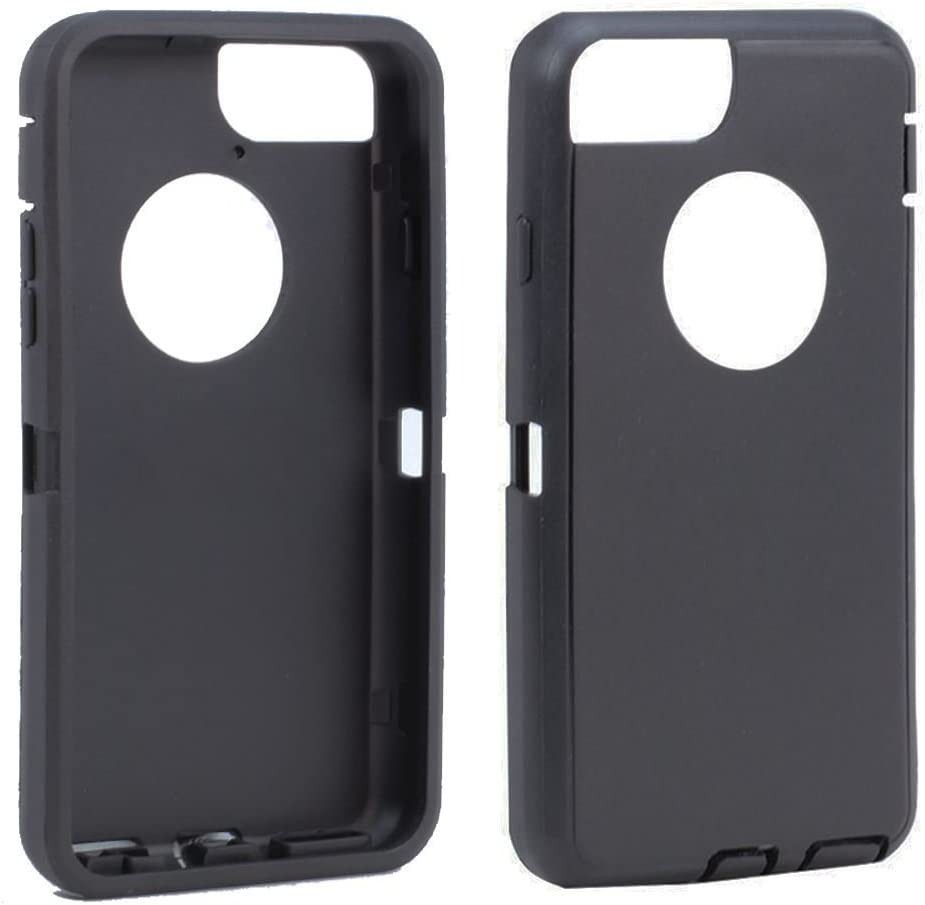 olivia arriola TPE Silicone Skin Replacement for Otterbox Defender Series Case Cover iPhone 6 Plus/iPhone 6s Plus (Black)