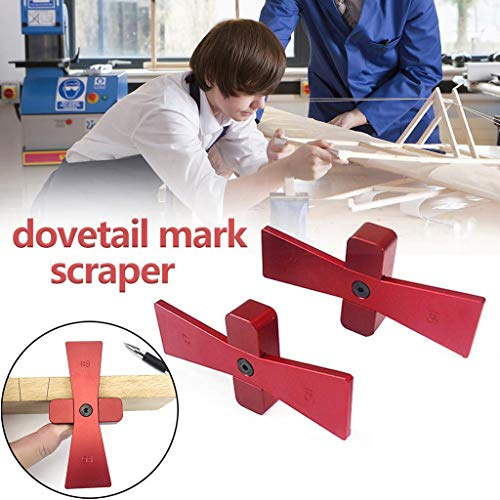 AIUSD Clearance , Marking Gauge Woodworking Dovetail Mortise Gauge Industrial Scriber Tool