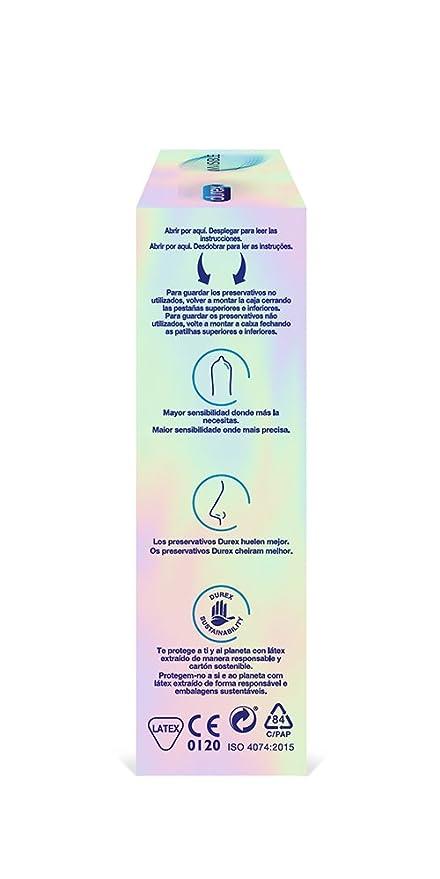 Durex Preservativos Invisible Extra Sensitivo 12 unidades: Amazon.es: Amazon Pantry