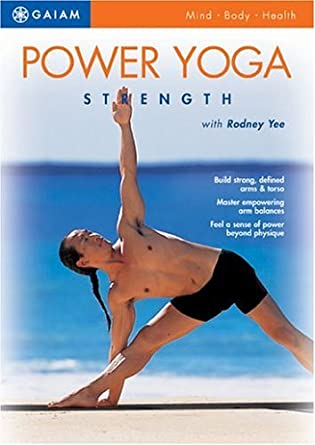 Amazon.com: Power Yoga - Strength [DVD] by Rodney Yee ...