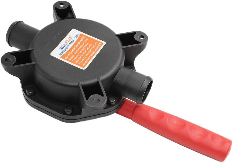 720GPH Boot Manuelle Membranpumpe Wasserpumpe Bilgenpumpe