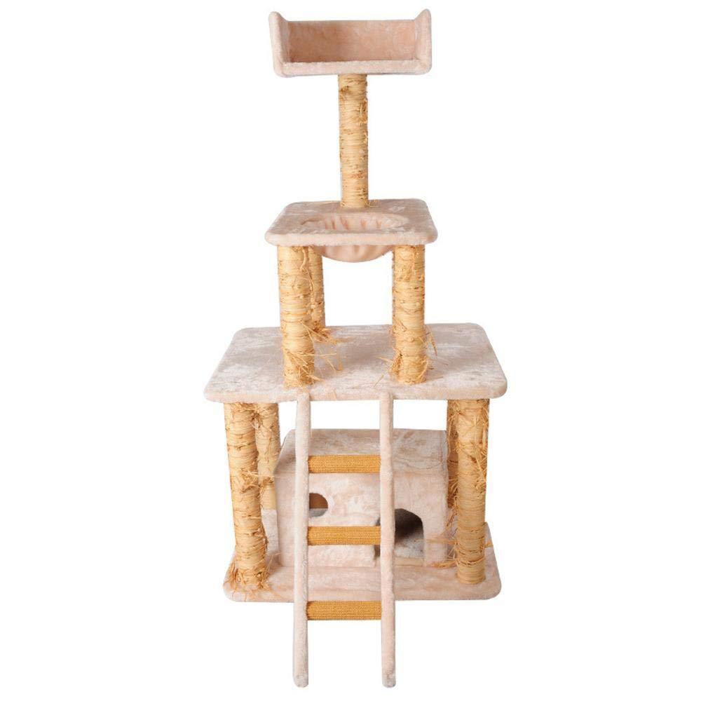 Hexiansheng Cat Climb Trees Large cat Toy La 80  60  160cm cat Scratch Board Plush cat Jumping cat Grab Post