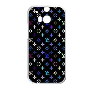 Happy LV Louis Vuitton design fashion cell phone case for HTC One M8
