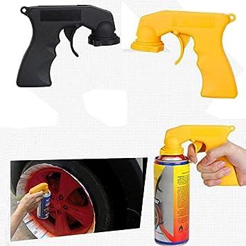RUNGAO Pistola de pintura de pl/ástico port/átil con 2 colores