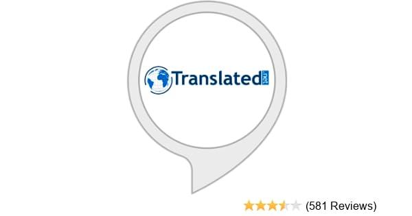 Amazon Translated Alexa Skills