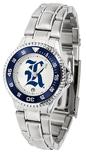 Rice Owls Competitor Watch - Rice Owls Competitor Steel Women's Watch