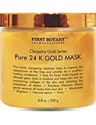 The BEST 24 K Gold Facial Mask 8.8 oz - Gold Mask for...