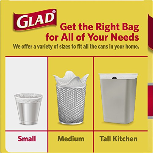 Small Garbage Bags : Glad small trash bags gallons ct home garden
