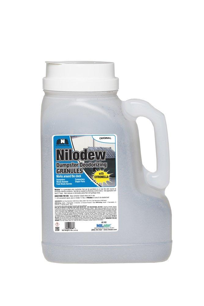 Nilodor 8 ND Nilodew Deodorizing Granules, 8 lb. (Pack of 2)