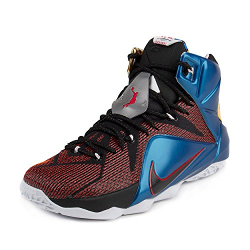 16d70632ee1 Galleon - Nike Lebron XII 12 SE 802193-909 Multi-Color Phantom Cacao Men s  Basketball Shoes (size 10)