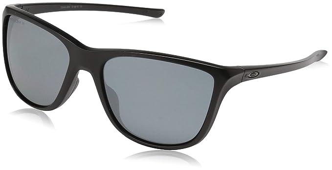Oakley Reverie, Gafas de Sol para Mujer, Negro, 55