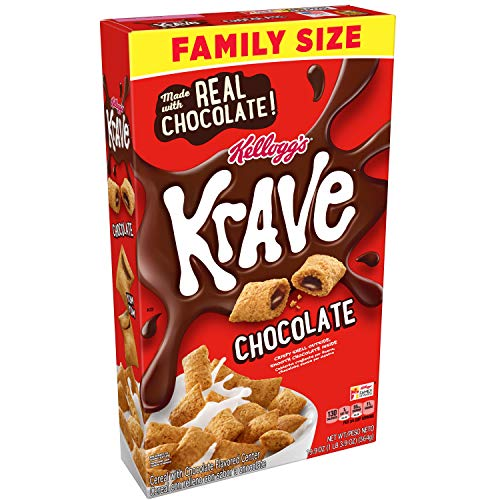 kfast Cereal, Chocolate, Good Source of Fiber, Family Size, 17.3 oz Box ()