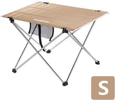 Table Pliante en Alliage d/'Aluminium Portable Petite Table de Camping