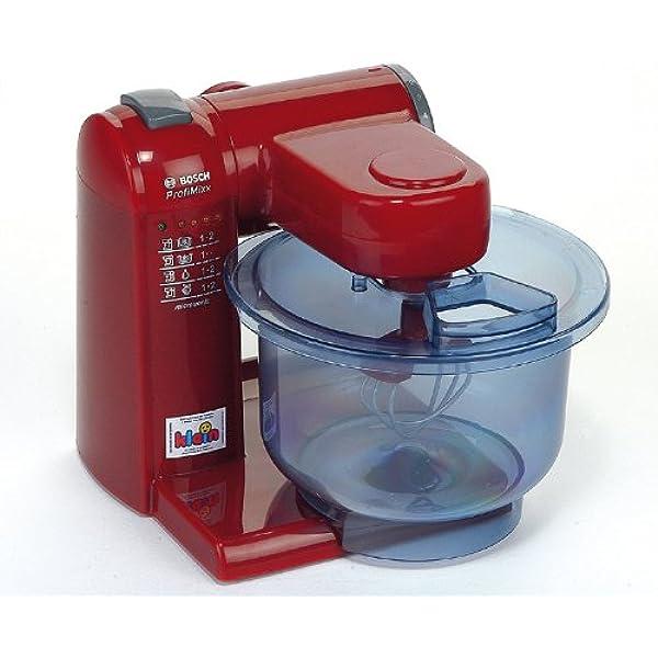 Theo Klein 9556 Robot de cocina Bosch, Robot de cocina a pilas con 2 velocidades, a partir de 3 años, 20 cm x 22 cm x 20 cm: Amazon.es: Juguetes y juegos