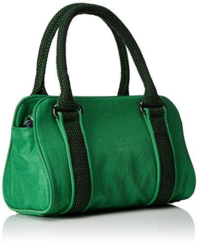 Kipling Bex Mini - Bolsos maletín Mujer Verde (Wild Greeny)