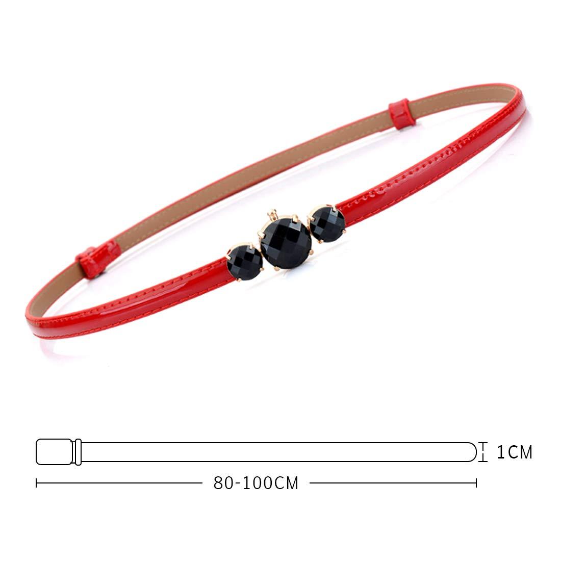 Inlefen Women waist belts for dresses adjustable elegant woman dress belt