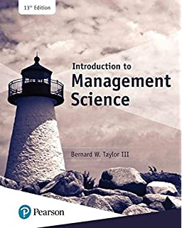 Introduction to management science 11th edition bernard w taylor introduction to management science 13th edition whats new in operations management fandeluxe Choice Image