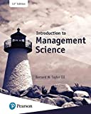 img - for Introduction to Management Science (13th Edition) (What's New in Operations Management) book / textbook / text book