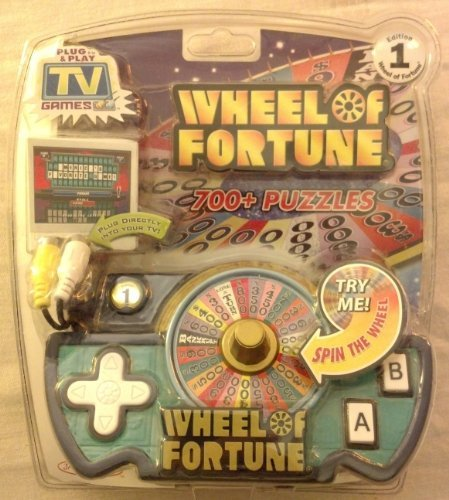 - Jakks Wheel of Fortune TV Game by Jakks Pacific