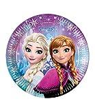 Disney Frozen Elsa & Anna Girls Paper plate - blu