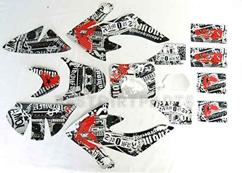 NEW ANIME ONE Industries I AM ONE Graphic Decals CRF50 SDG SSR 125 3M