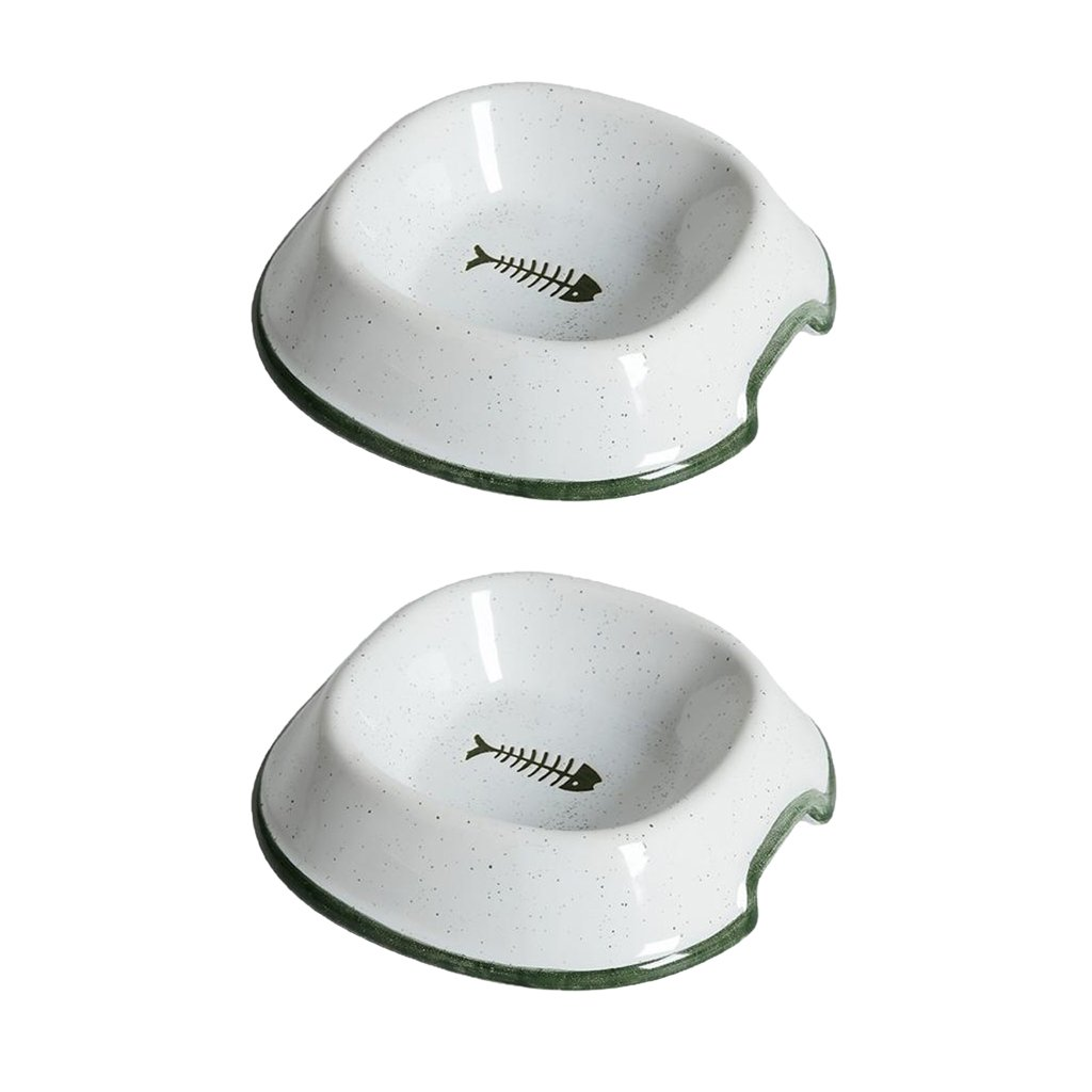 Type 1 Baoblaze 2 Pieces Pet Dog Feeder Dog Water Bowl Dog Supplies Dishes Feeders Fountains Type 1