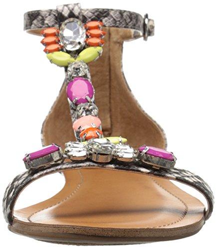 Jessica Simpson Lanning de las mujeres sandalias de cuña Natural