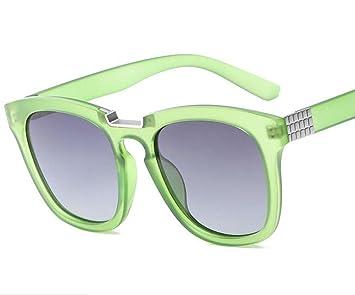 KUKI Gafas de sol polarizadas Hombres y mujeres simples tendencia gafas de sol polarizadas , 6