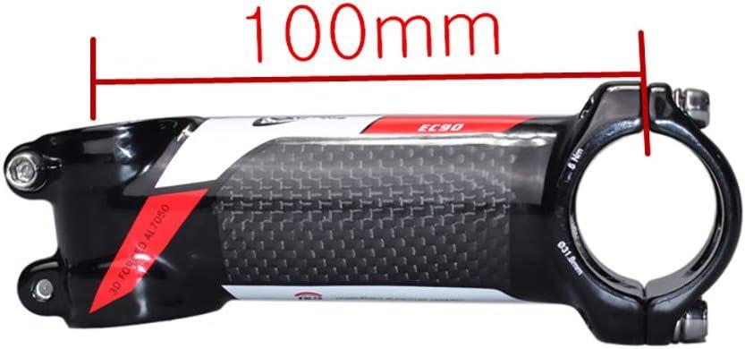 YCXYC Manillar De Bicicleta Tallo,Adaptador de Manillar,Vástago Elevador MTB Bicicleta De Carretera,Aleación de Aluminio + Carbon Potencia de MTB Bici Stem Bicicletas Potencia 28.6mm-31.8mm,6°,100mm: Amazon.es: Hogar