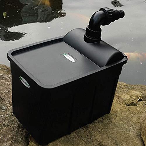 (Pondxpert FiltoBox 800 Gallon (3000 Liters) Non UVC Water Garden Pond Filter)