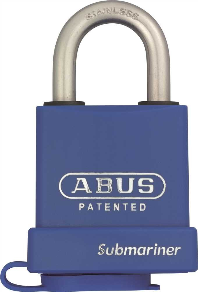 ABUS USA 83271 ABUS 83WP-IB/53 SERIES BRASS WEATHER-RESISTANT PADLOCK, CHROME, 2 IN. (1/EA)