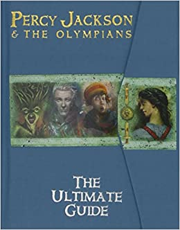 Image result for percy jackson the ultimate guide book cover